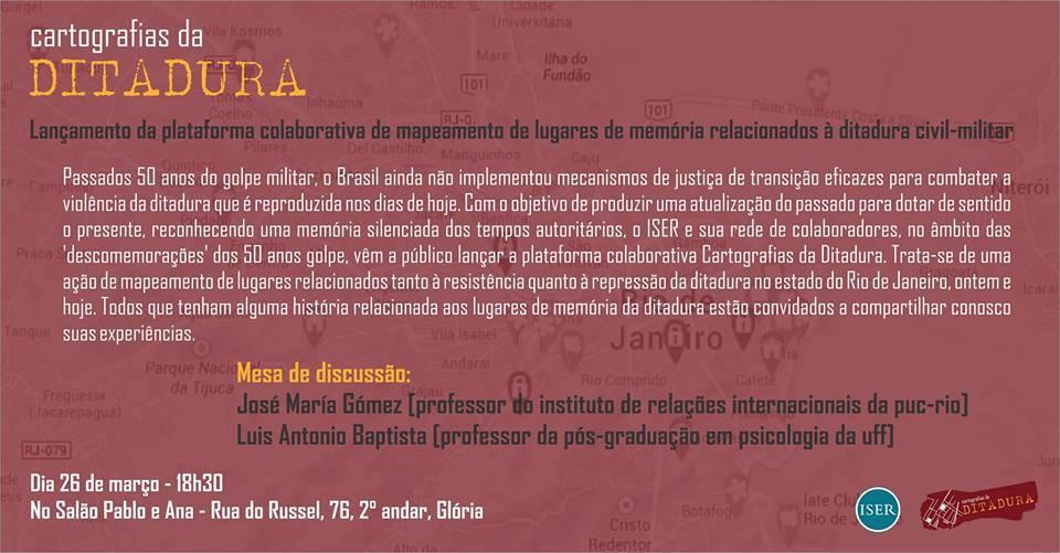 Cartografias da ditadura_divulgação